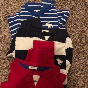 Kids long sleeves Abercrombie shirts